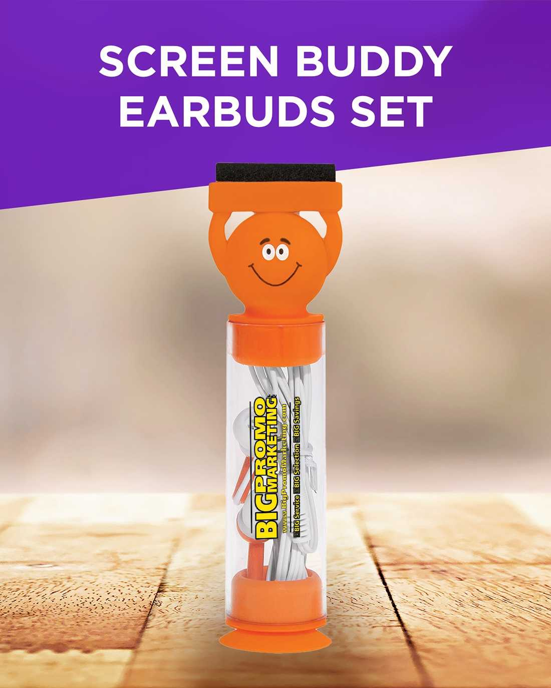Screen Buddy Earbuds Set AIM