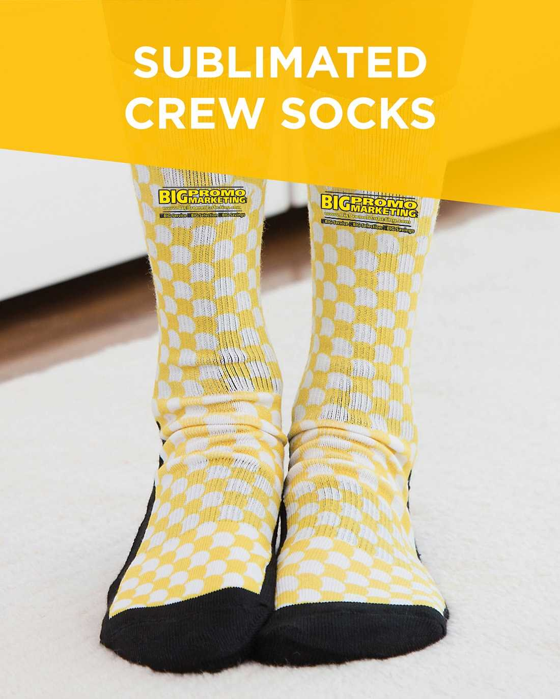 Sublimated Crew Socks AIM