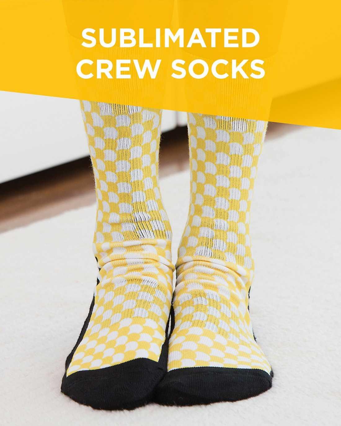 Sublimated Crew Socks AIM