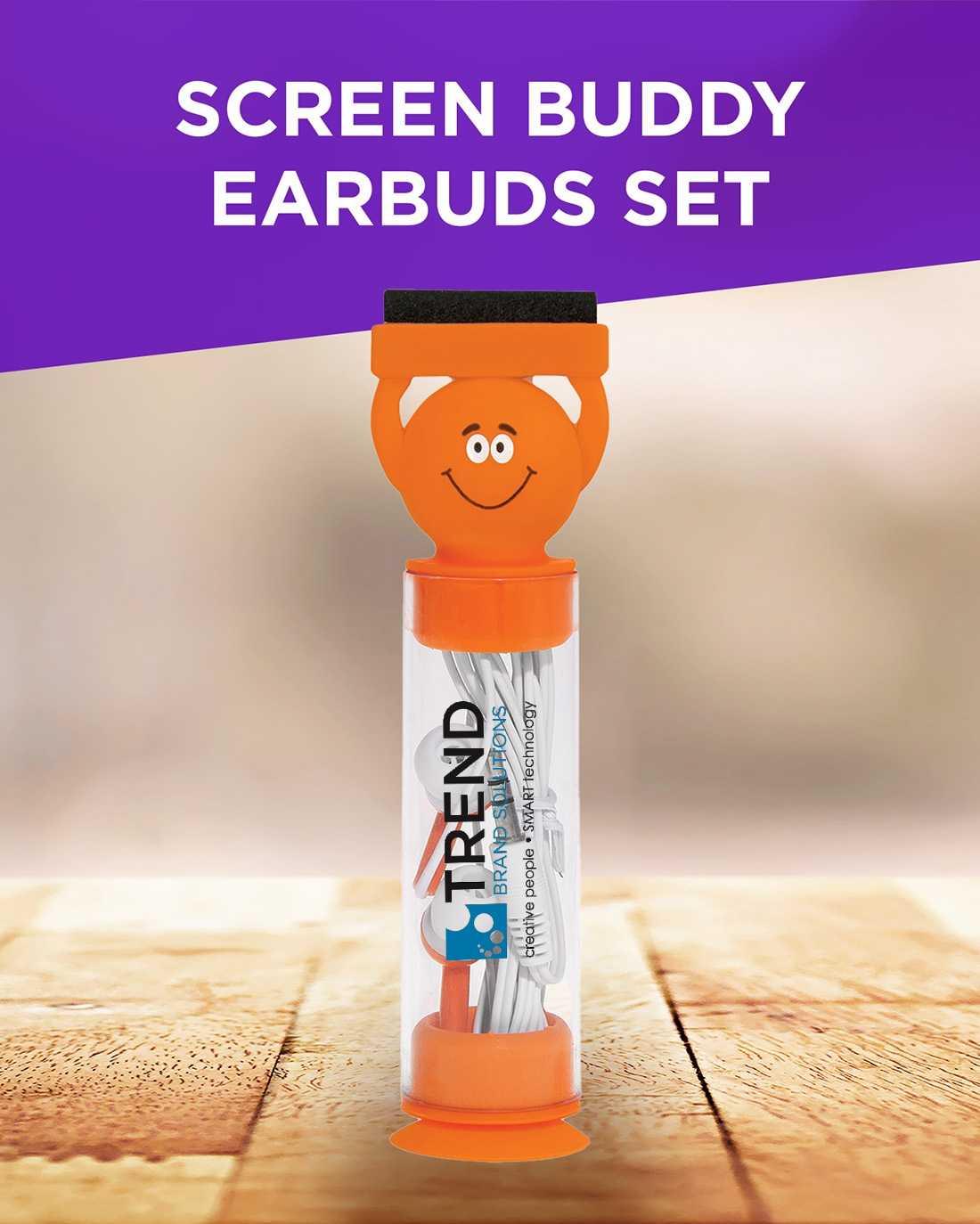 Screen Buddy Earbuds Set AIM
