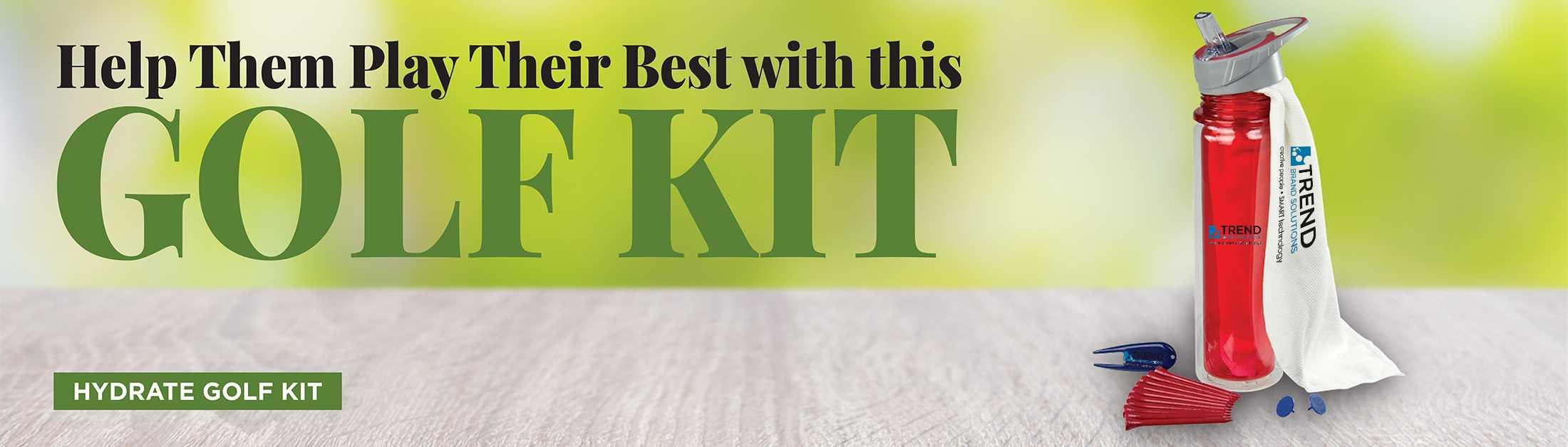 Hydrate Golf Kit AIM