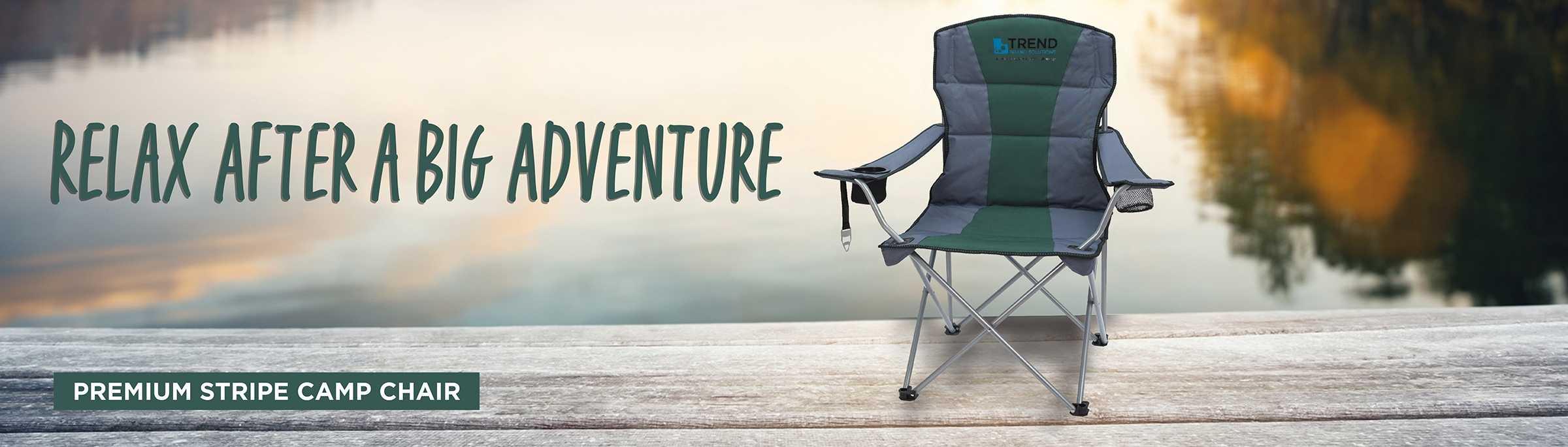 Premium Stripe Camp Chair AIM