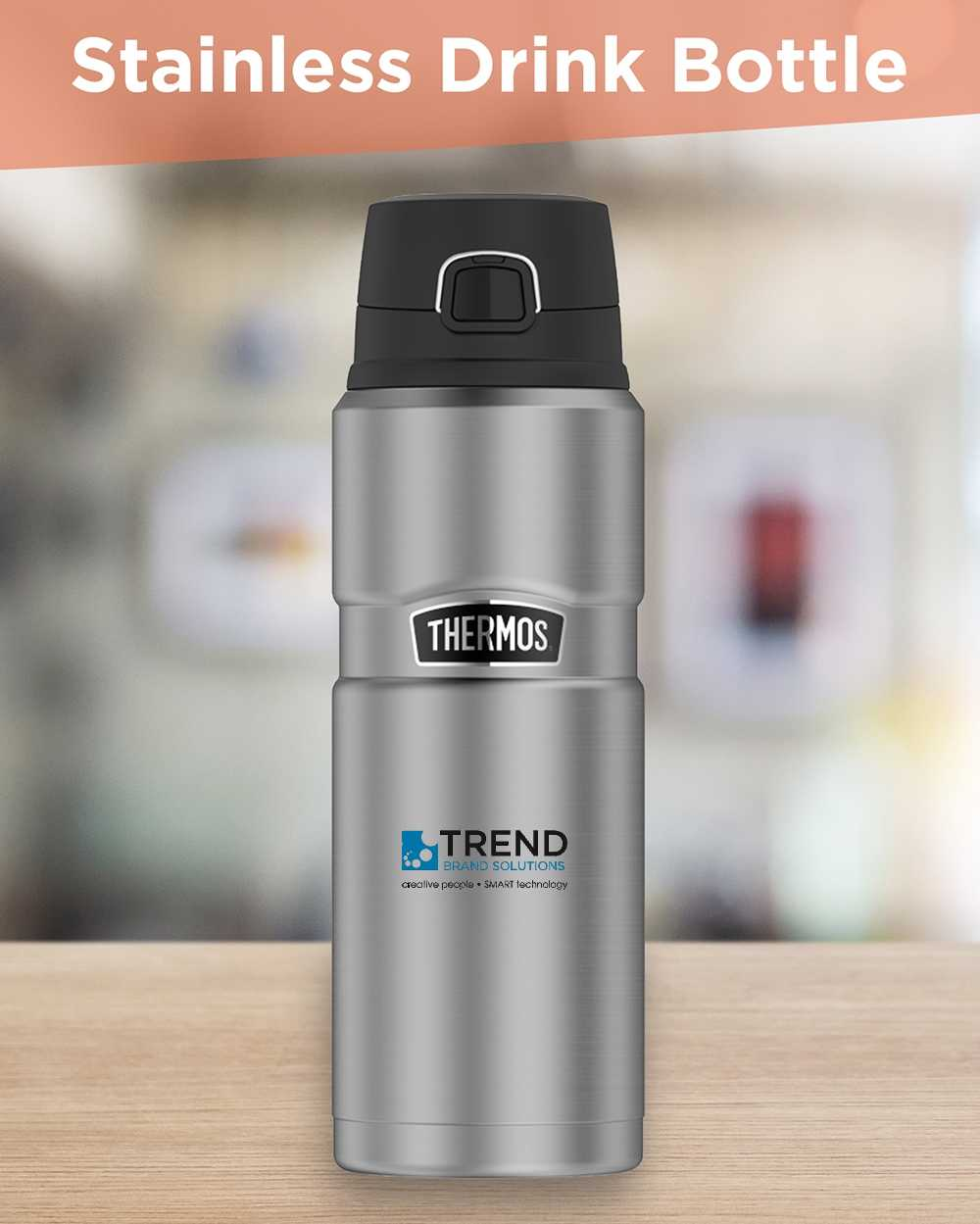 Stainless Drink Bottle AIM