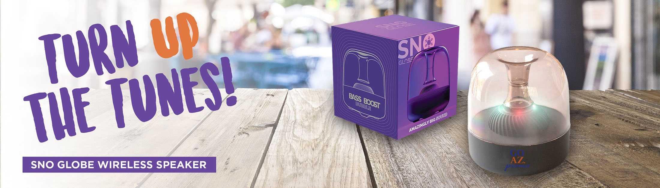 Sno Globe Wireless Speaker AIM