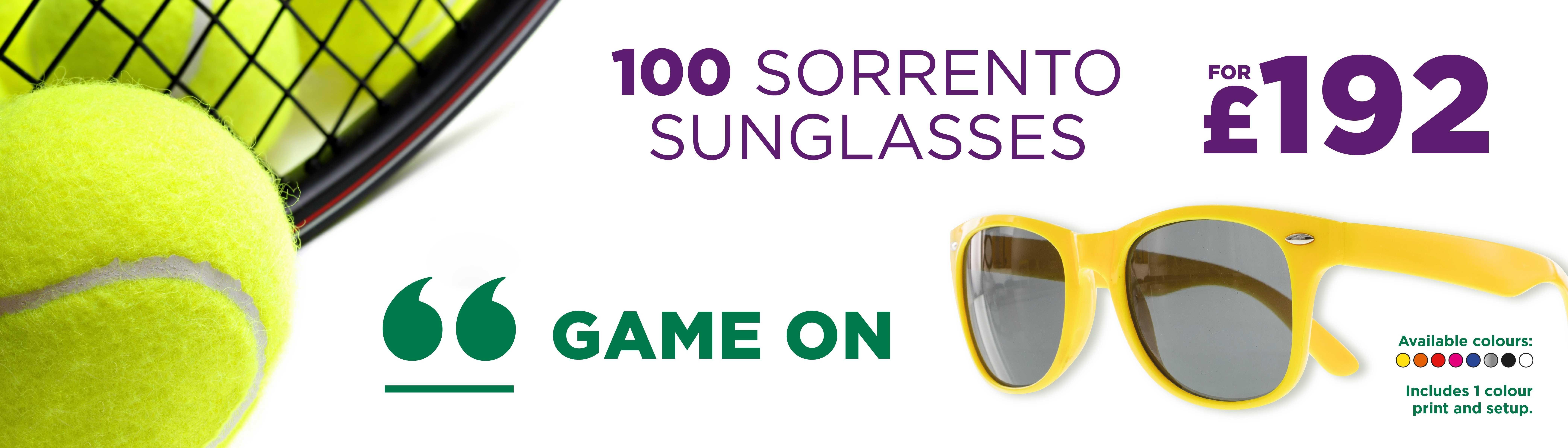 Sorrento Sunglasses Sterling