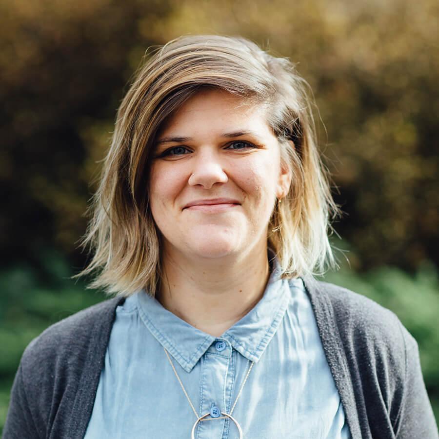 A striking headshot of our staff member Hannah Glavor
