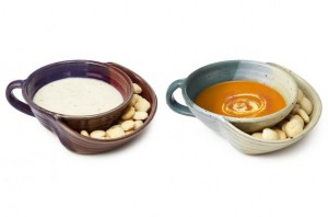 soup and cracker bowls