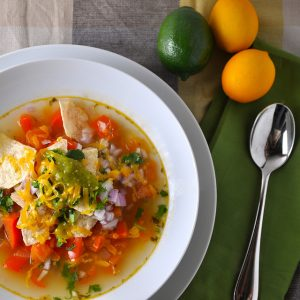 Summer Soup Tortilla Recipe