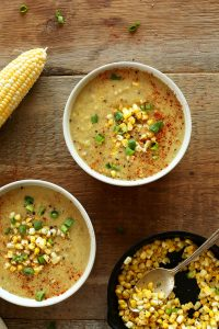 Summer Corn Soup Recipe