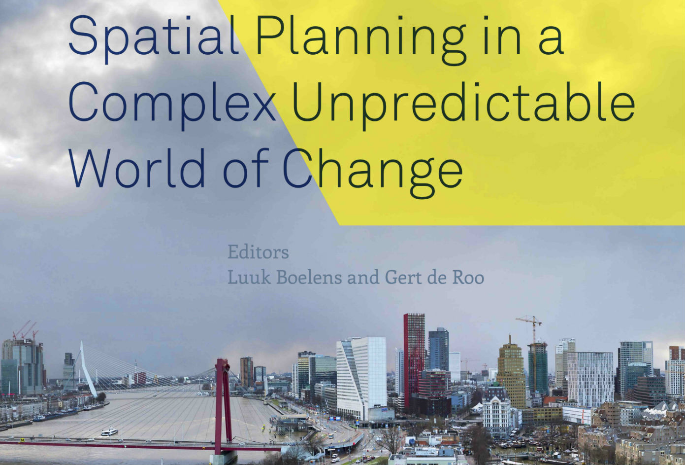 Omslag spatial planning complex cover half