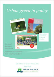 Urban green policy