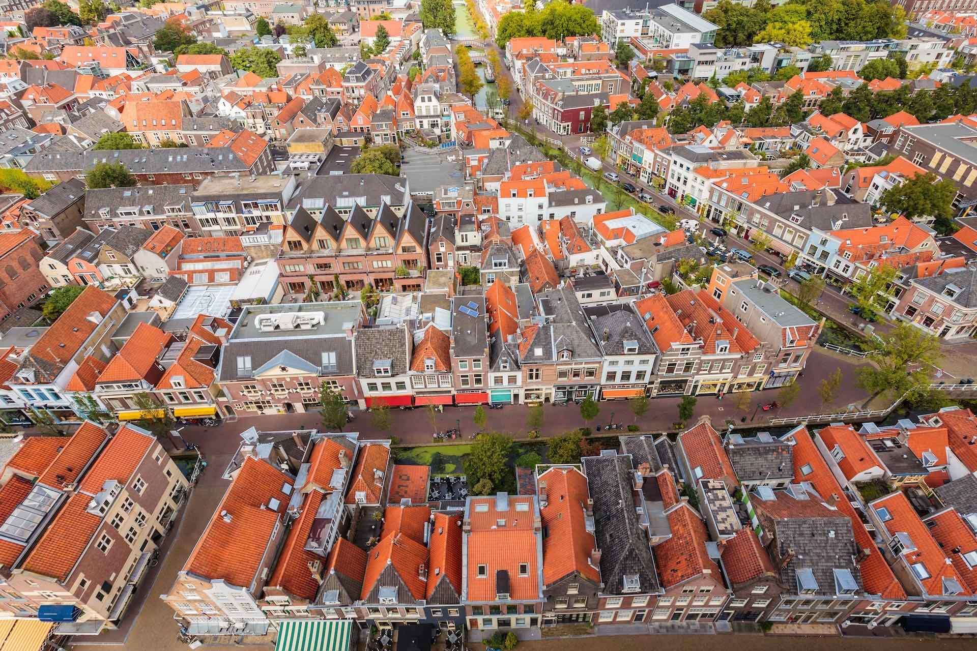 Oude binnenstad 1920