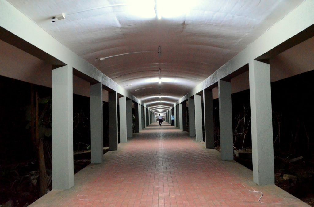 Infinity Corridor.. An endless road to enlightenment..!