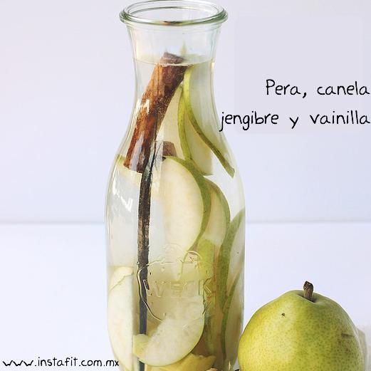 infusion de pera y canela