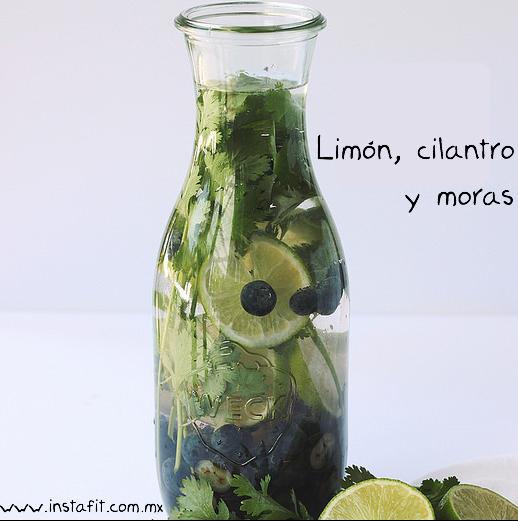 Infusiones de limón y hierbas