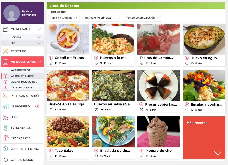 plan de nutrición InstaFit