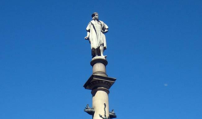 Image - NYC - Columbus Circle: Columbus Monument by Wally Gobetz