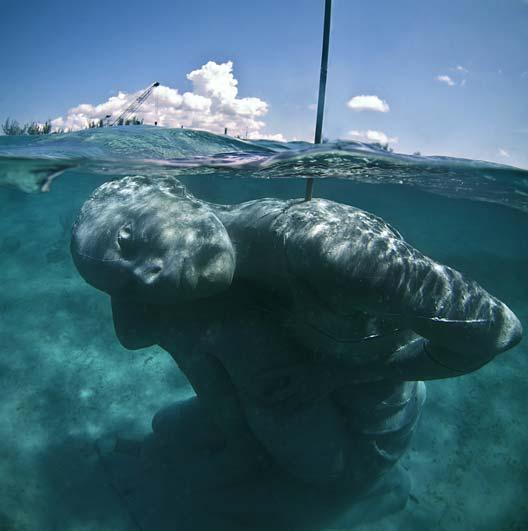 Ocean Atlas Submerged