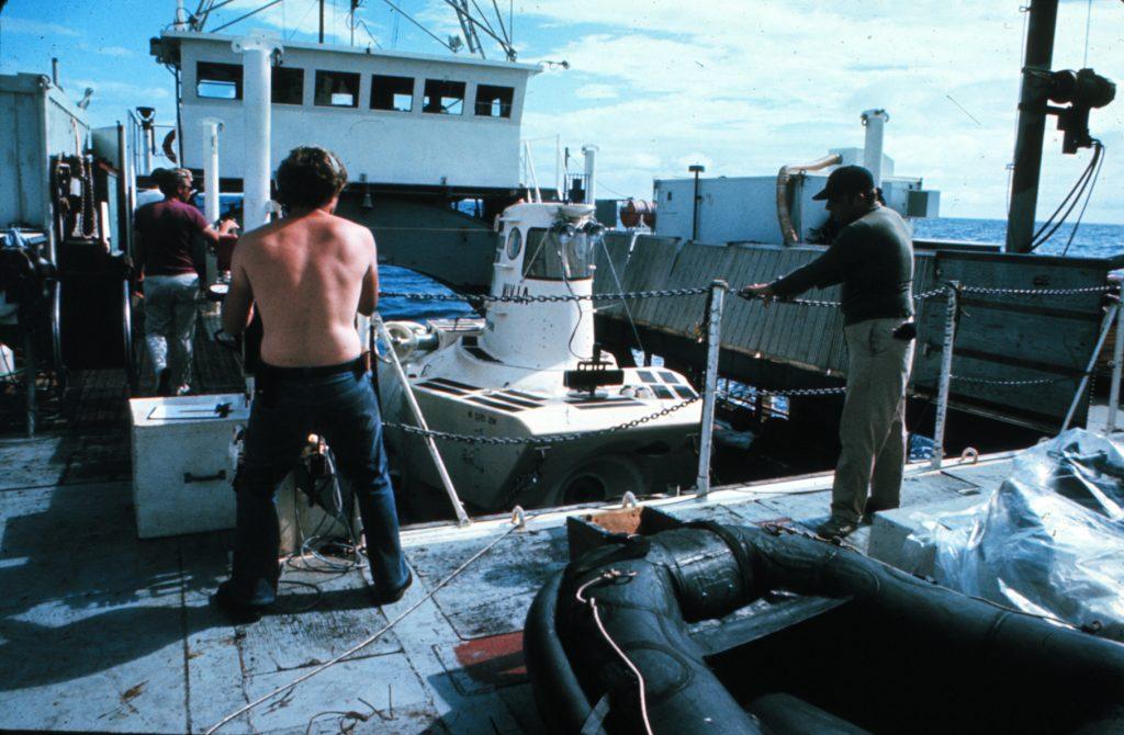 DSV Alvin. Credit: OAR/National Undersea Research Program (NURP)