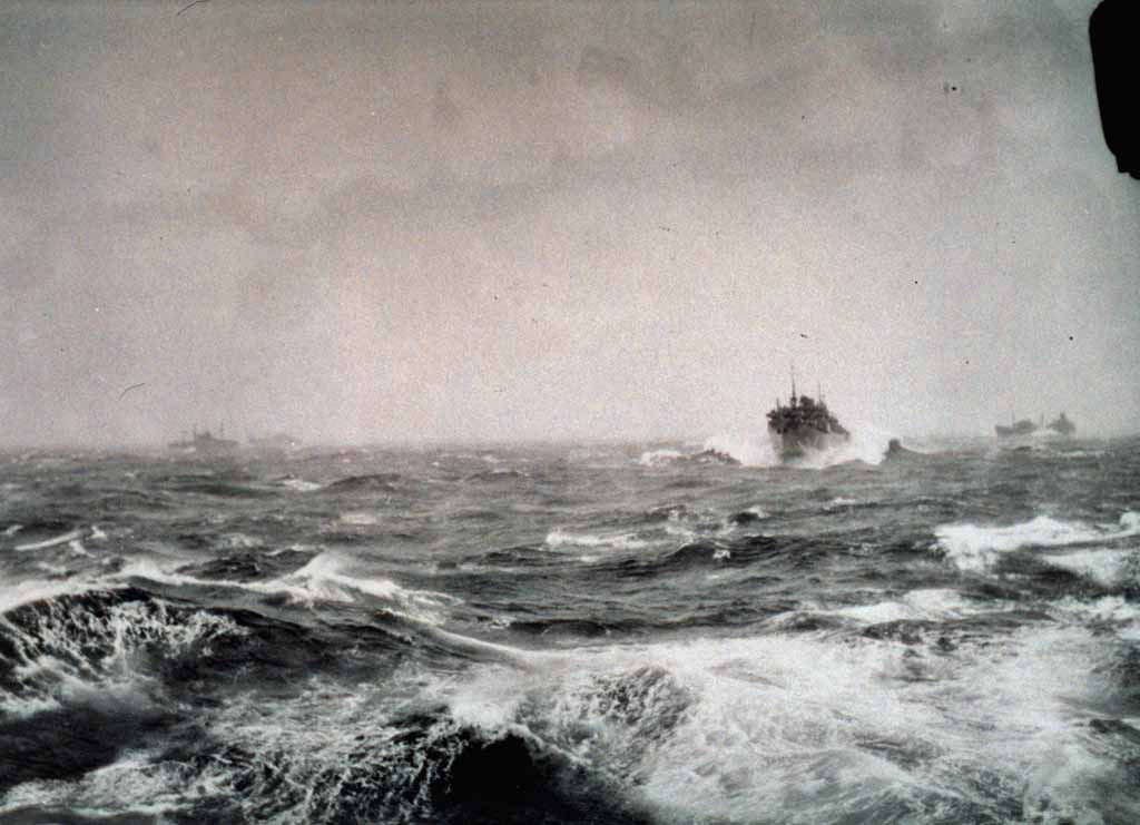 Bad Weather in the North Atlantic during WW2