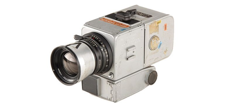 12 Hasselblad Cameras were left on the moon.