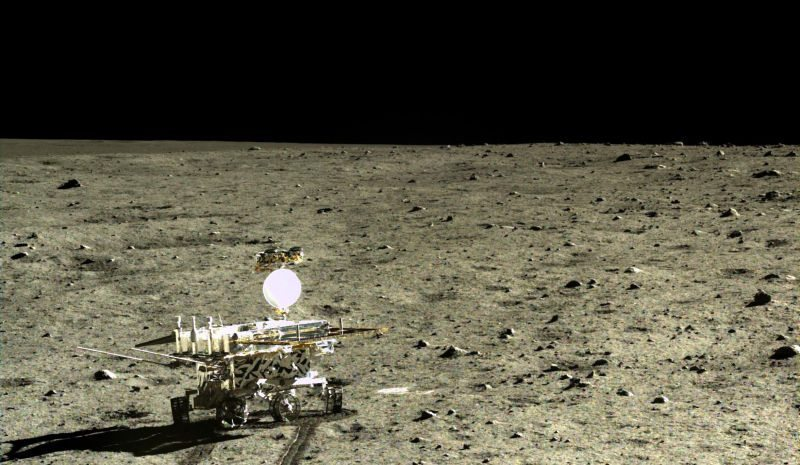 Yutu is an unmanned lunar rover that formed part of the Chinese Chang'e 3 mission to the Moon.