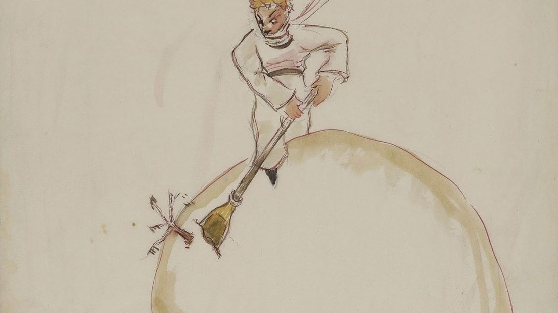Little Prince original Illustration