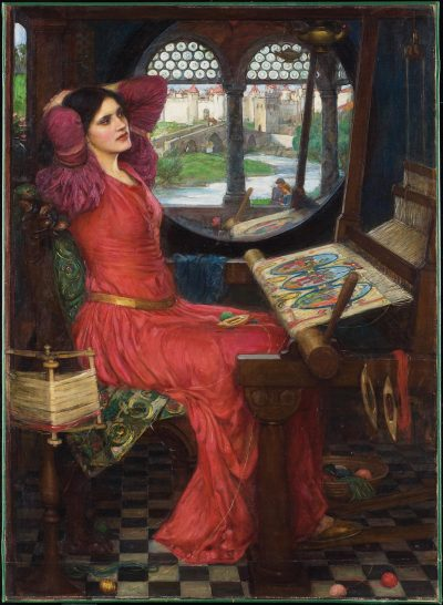 John William Waterhouse  I Am Half Sick Of Shadows Said The Lady Of Shalott