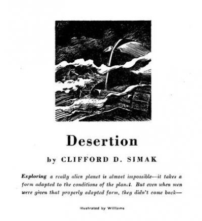 Desertion - Cover Image