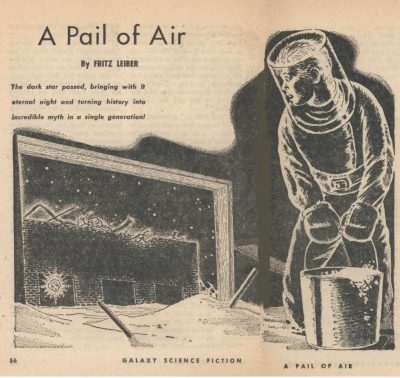 A Pail of Air - Cover Image