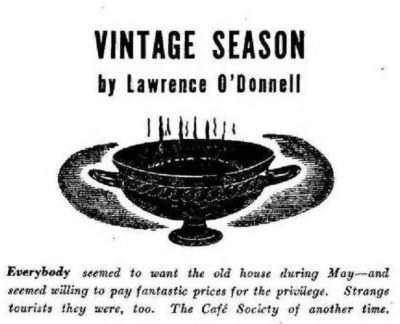 Vintage Season  - Cover Image