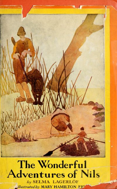 The The Wonderful Adventures of Nils - cover by Mary Hamilton Frye1