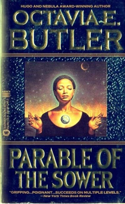 an analysis of the community in octavia butlers parable of the sower Parable of the sower is the butlerian odyssey of one woman who is twice as feeling in a world that has become doubly dehumanized the time is 2025 the place is california, where small walled communities must protect themselves from hordes of desperate scavengers and roaming bands of people addicted.