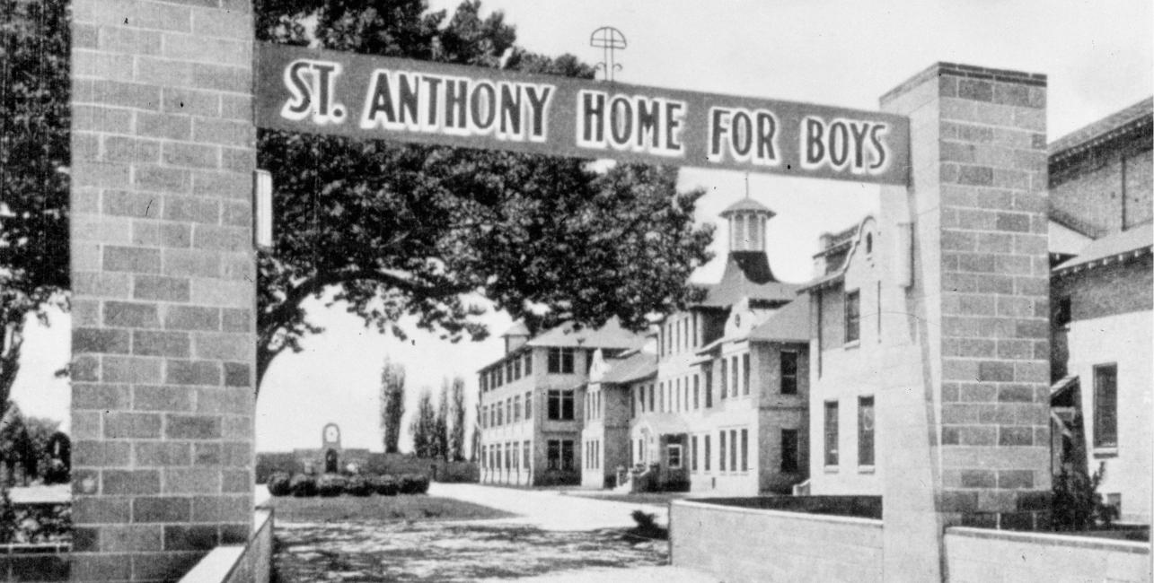 Saint Anthony home for boys historical photo