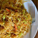Spaghetti Squash Chow Mein (AIP, Vegan, Gluten-Free)