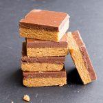 No Bake Chocolate Almond Butter Bars (Vegan, Gluten-Free)