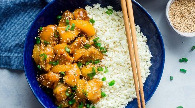 Paleo Orange Chicken (Dairy & Gluten-Free)