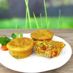 High-Protein Savory Veggie Muffins (Dairy & Gluten-Free)