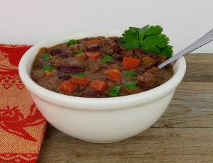 Buffalo Chili con Carne (Dairy & Gluten-Free) - Just Paleo Food