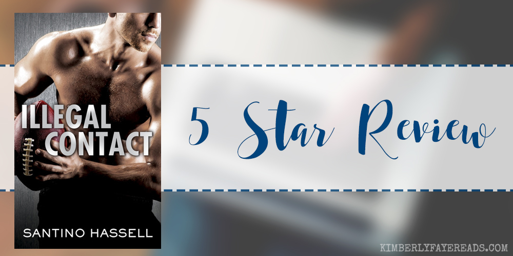 In Review: Illegal Contact (The Barons #1) by Santino Hassell