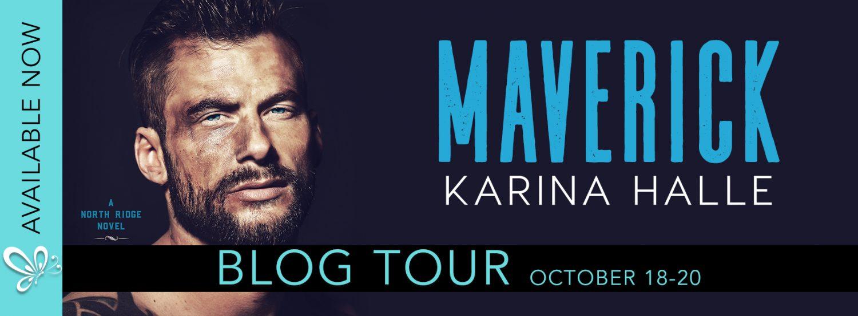 Blog Tour, Review & Teaser: Maverick (North Ridge #2) by Karina Halle