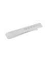 Men's Graffiti Tie Bar in Rhodium Plated Sterling Silver
