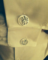 Customer in Rhodium Plated Sterling Silver Signature Cufflinks