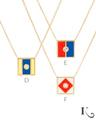 Code Flag Pendants in D, E, F