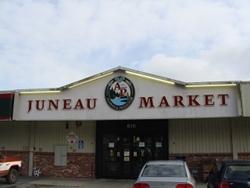 Alaskan & Proud's Juneau Market. (Photo by Casey Kelly/KTOO)