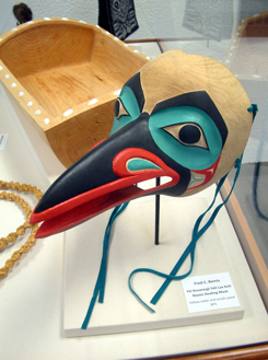 Yei Kusanexji Yeil Lax Keit Raven Healing Mask