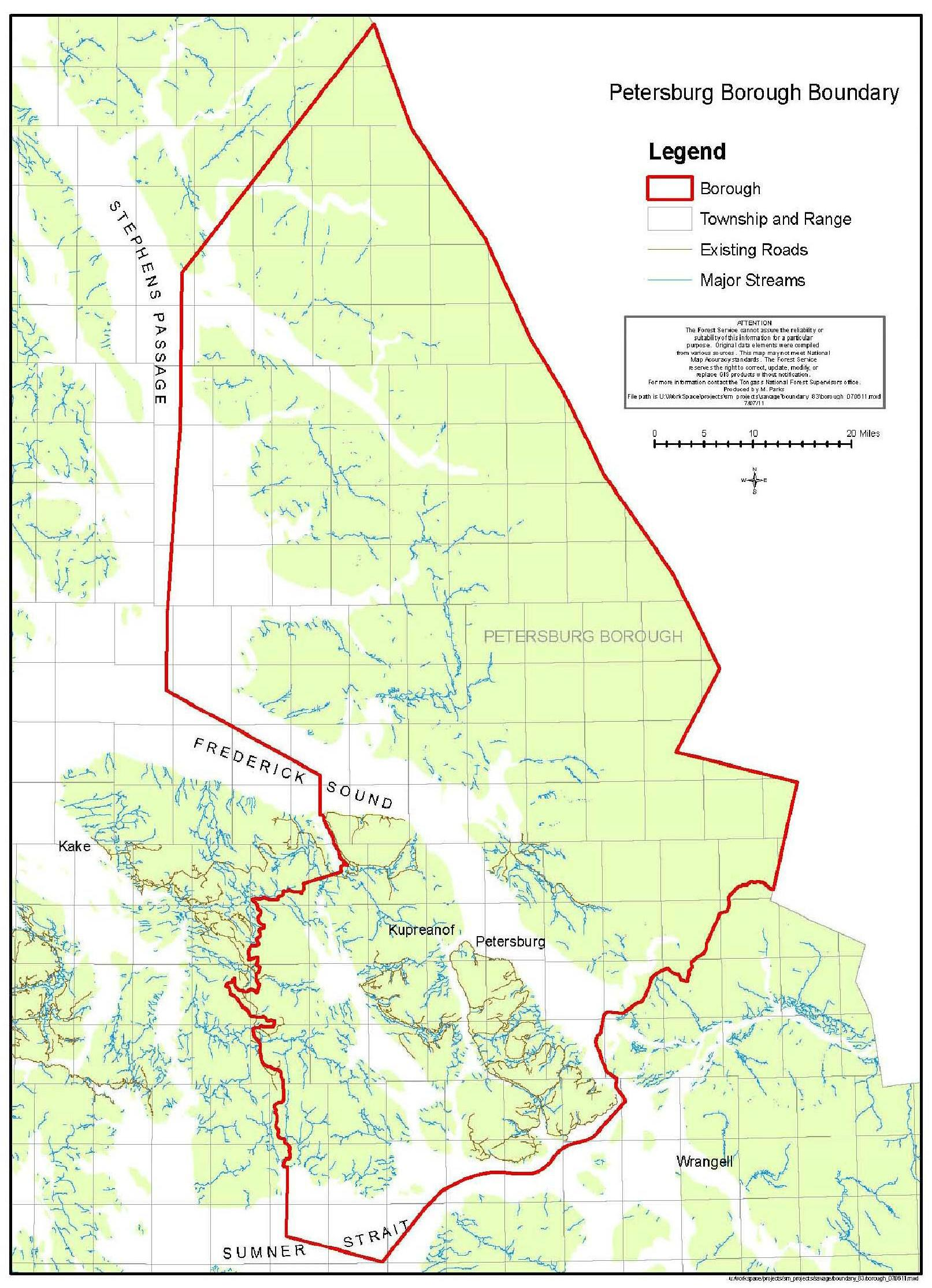 Juneau appeals Local Boundary Commission's Petersburg ...