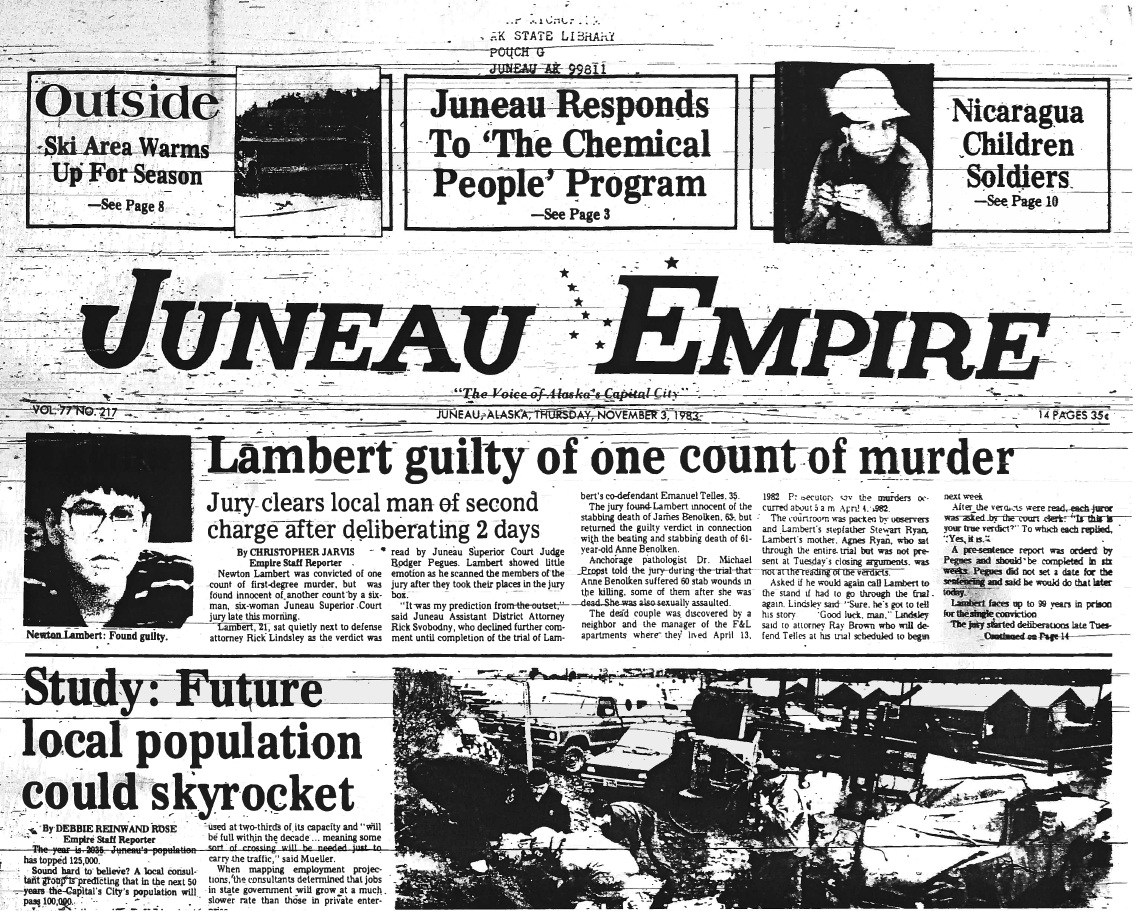 Juneau Empire Nov. 3,1983