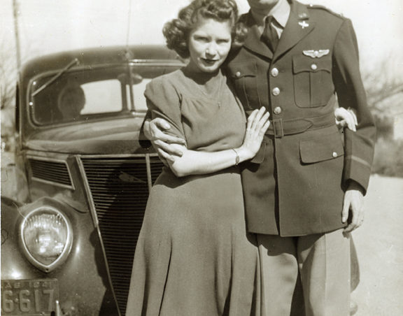Esther Hubbard and Lt. Henry Hubbard.