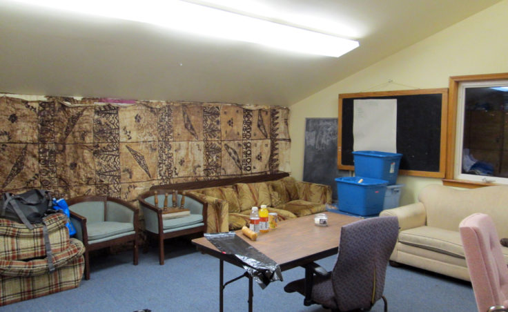 The girls dorm at Northern Light Shelter.